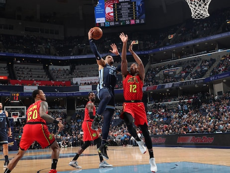 Grizzlies vs. Hawks photos 3.7.20