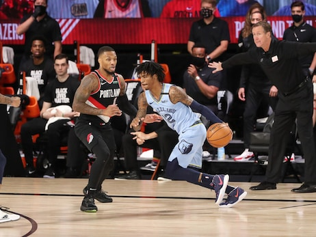 Grizzlies @ Trail Blazers photos 8.15.20