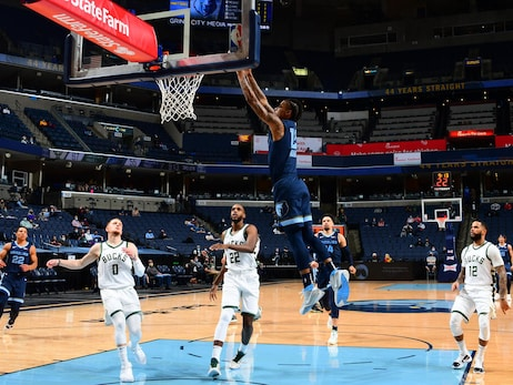 Grizzlies vs. Bucks photos 3.4.21