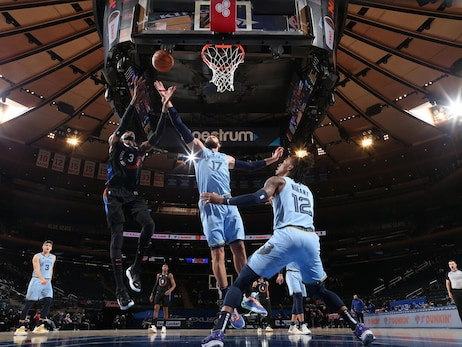 Grizzlies @ Knicks photos 4.9.21