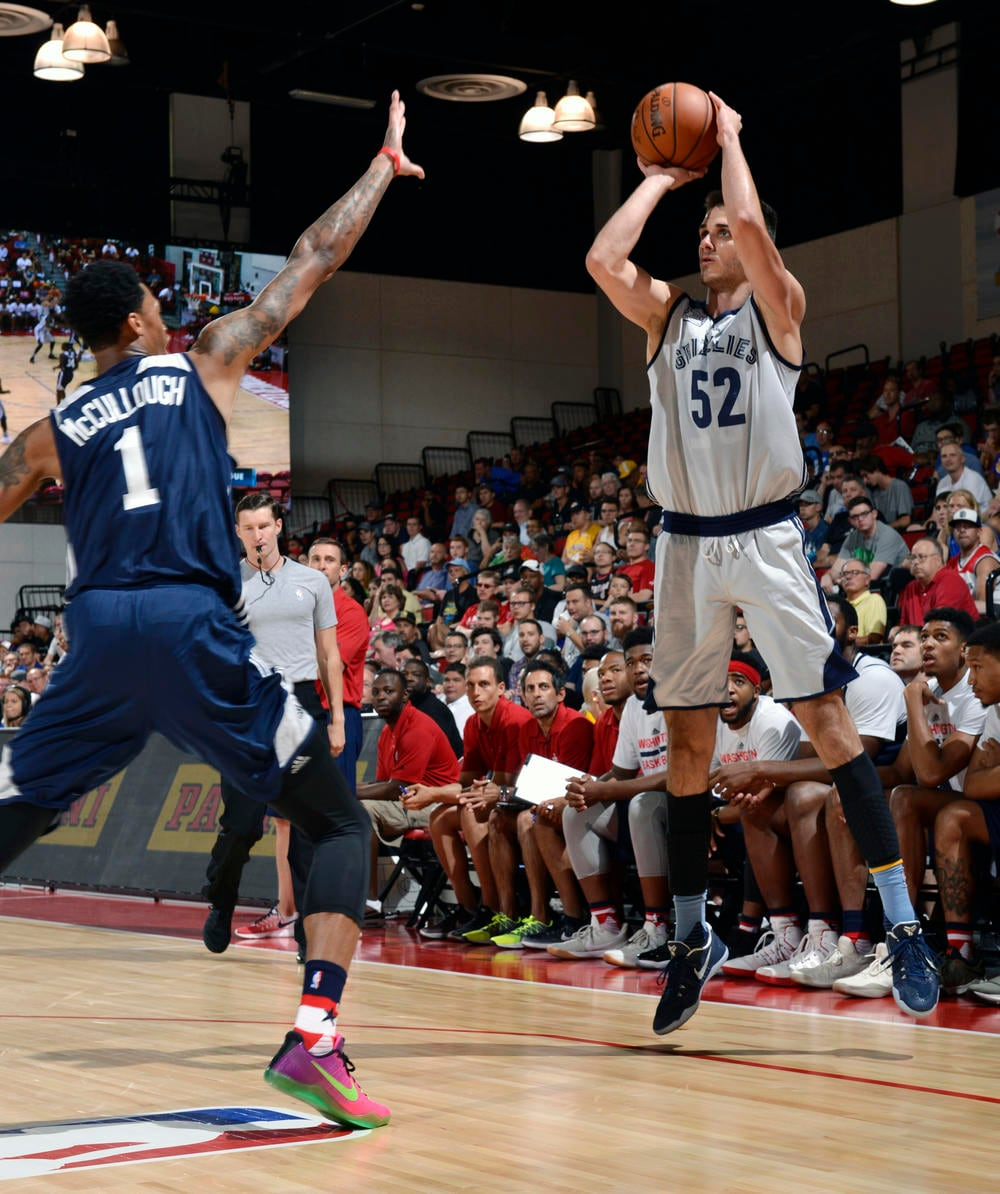 2017 Las Vegas Summer League - Washington Wizards v Memphis Grizzlies