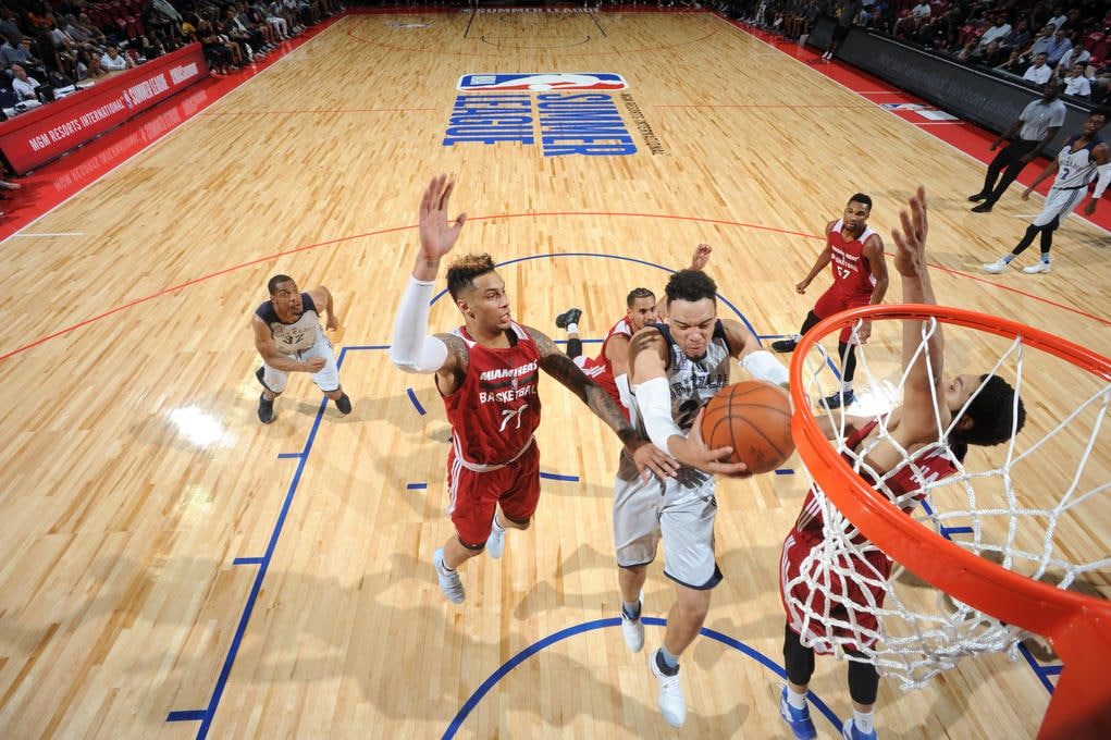 2017 Las Vegas Summer League - Miami Heat v Memphis Grizzlies