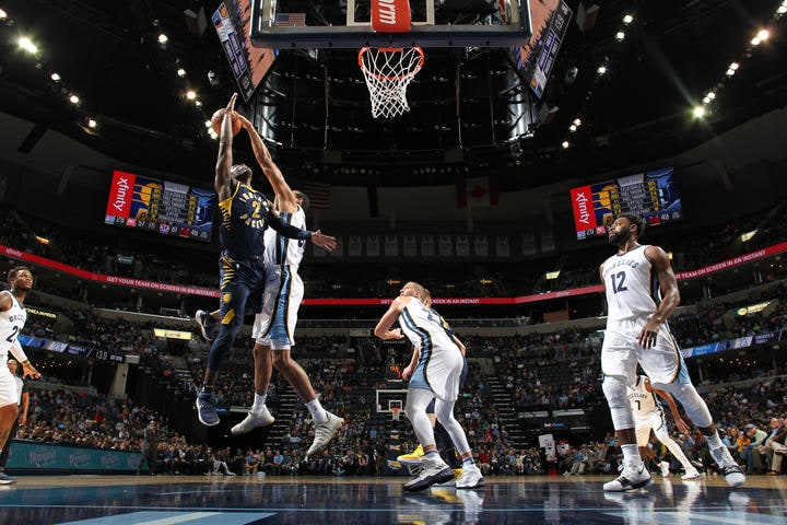 Indiana Pacers v Memphis Grizzlies