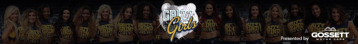 Memphis Grizz Girls presented by Gossett Motor Cars