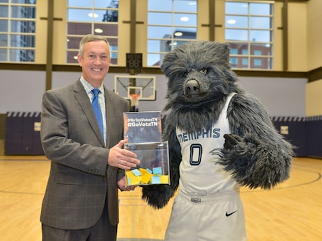 Grizzlies & Secretary of State announce 'Your Vote Matters' Campaign Photos