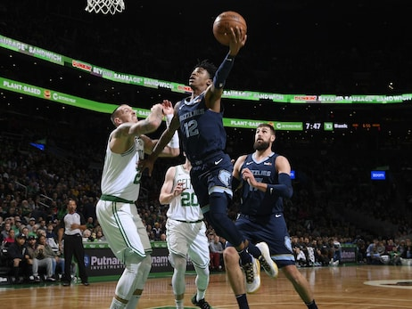 Postgame Report:  Boston surges past Memphis as Grizzlies drop back-to-back games