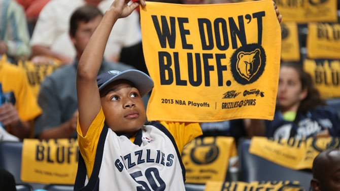 Memphis Grizzlies Named Best Overall Professional Sports
