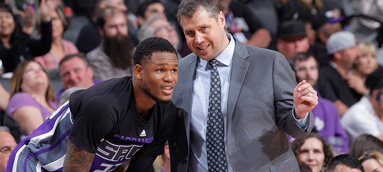 Ben McLemore and Dave Joerger