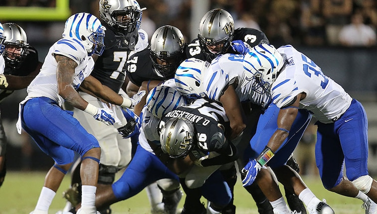 Grind City Football With Aac Title And Likely Peach Bowl