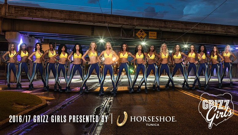 Memphis Grizz Girls presented by Horseshoe Casino