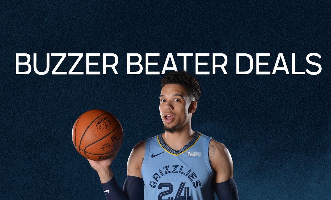 Grizz's Buzzer Beater Deals