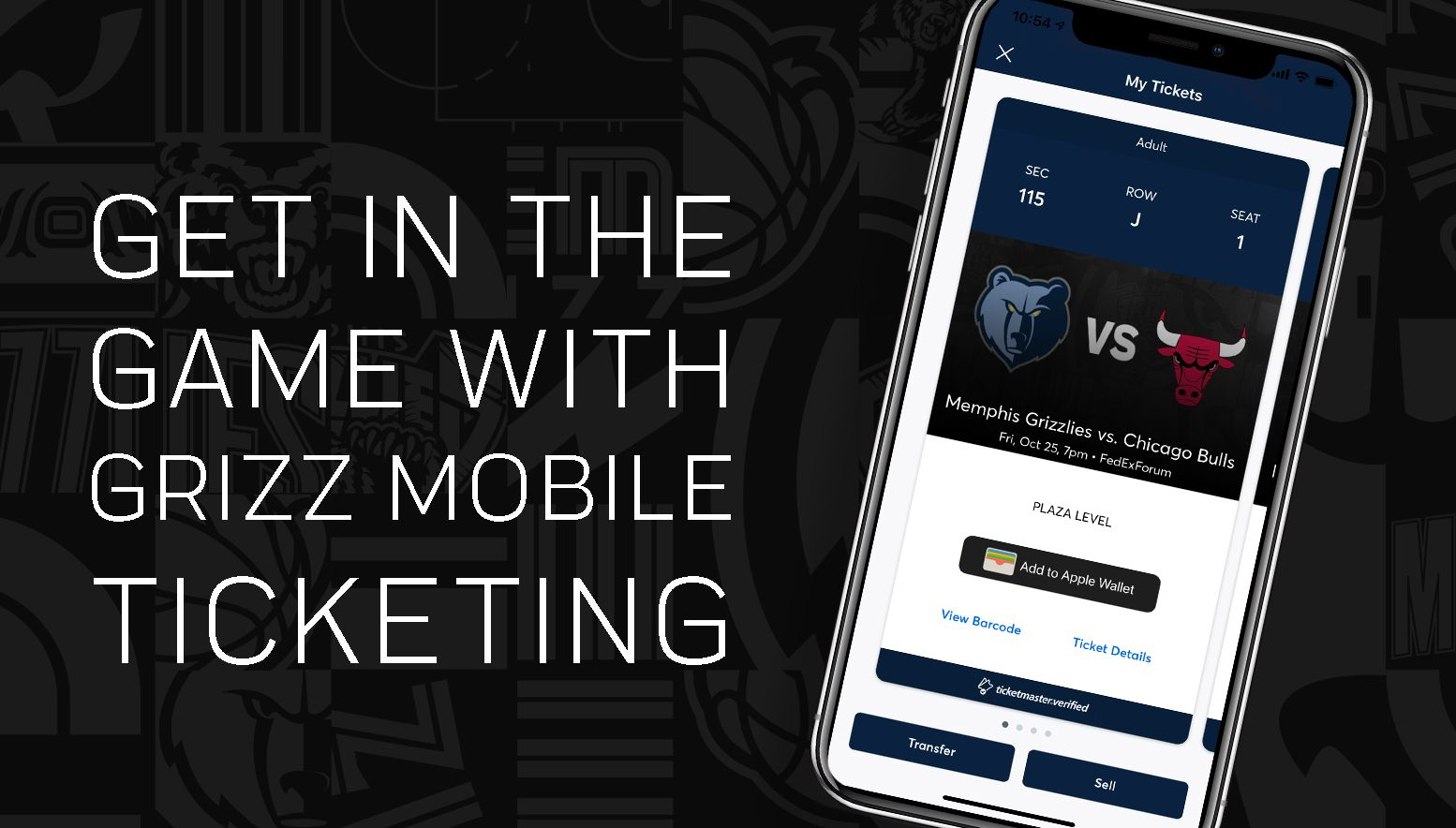 Grizzlies Mobile Tickets