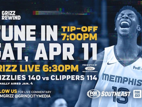 """Grizz Rewind"" continues in April on Fox Sports Southeast"