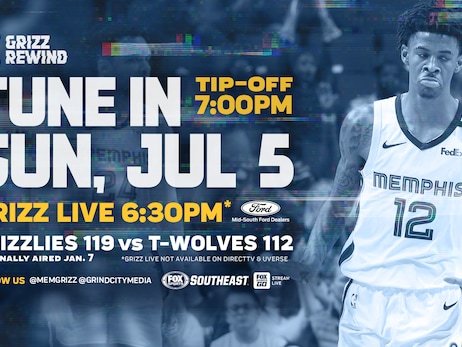 Grizz Rewind returns to the 2019-20 season on FOX Sports Southeast