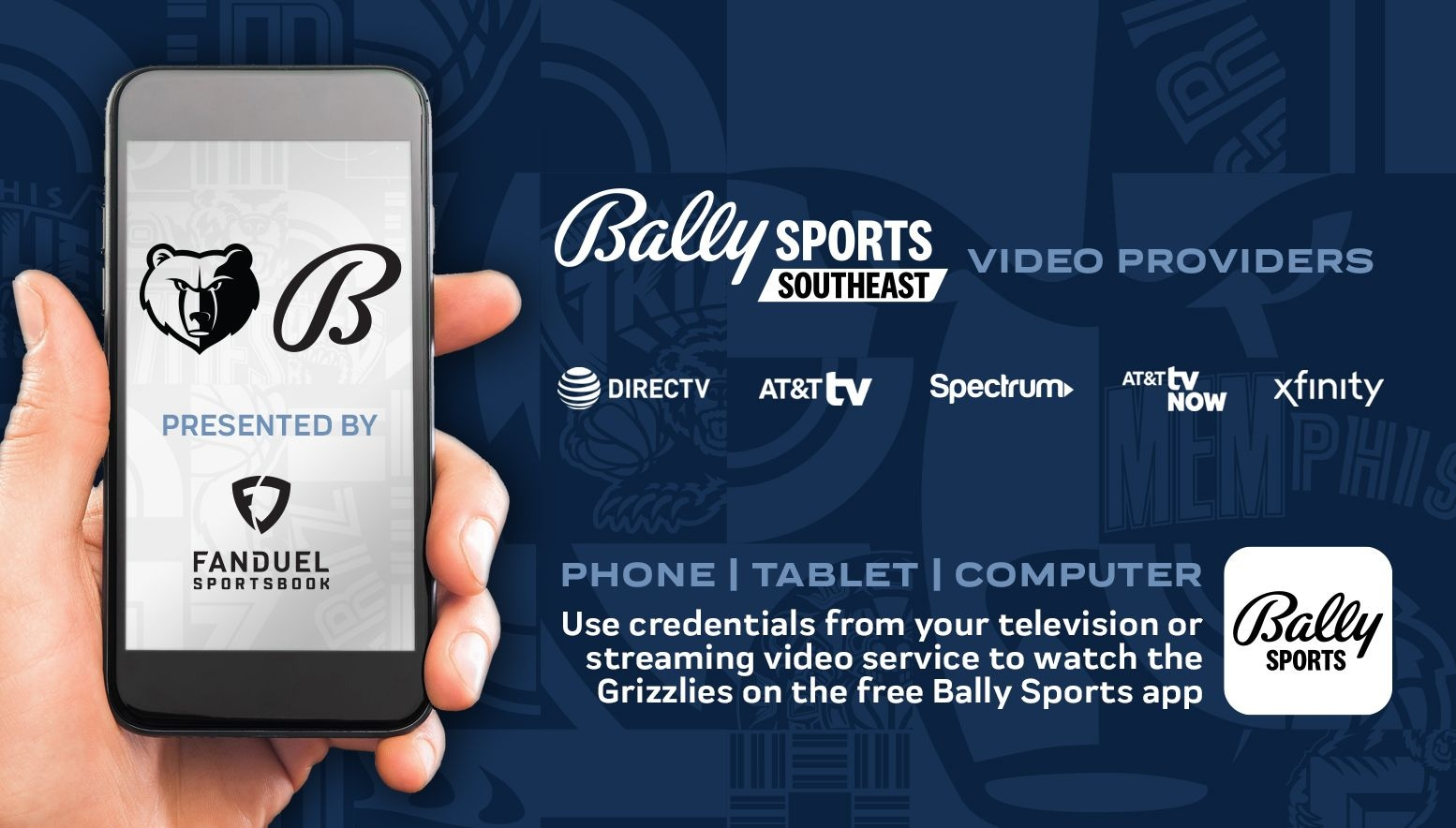 Grizzlies Broadcast Channel Listings