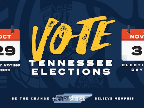 Memphis Grizzlies adds to #GrizzVotes Voter Education Program