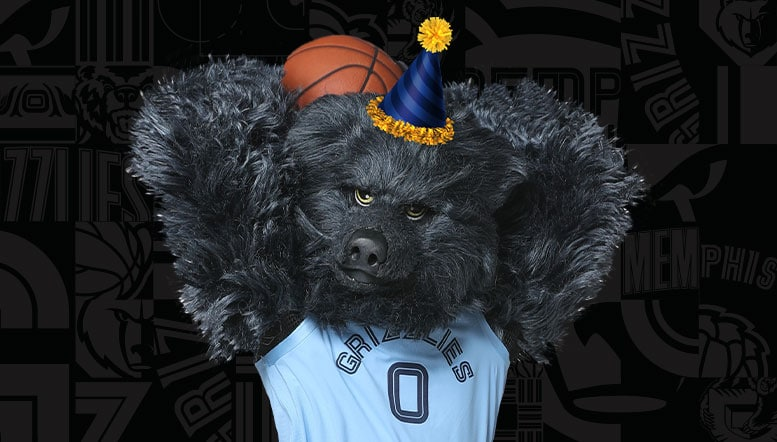 Birthday Parties with the Grizzlies