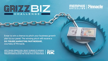 Memphis Grizzlies launch Grizz Biz Challenge presented by Pinnacle Financial Partners