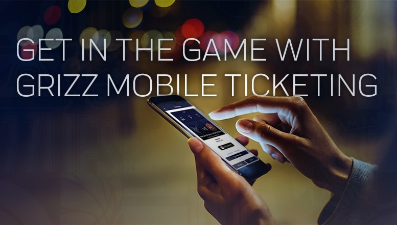 Mobile Tickets | Memphis Grizzlies