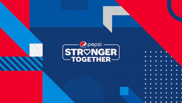Pepsi Stronger Together expansion campaign
