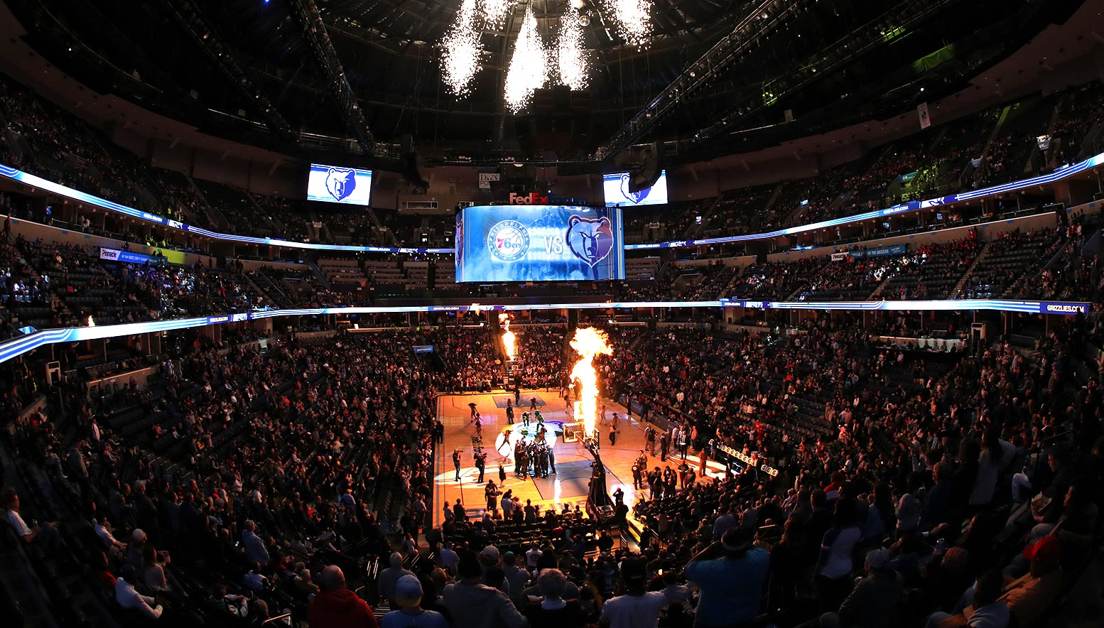 Grizzlies vs 76ers Arena Overall - Single Game Tickets