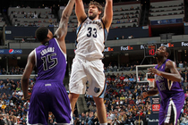 Grizzlies vs. Kings - Jan. 21, 2012 - 1