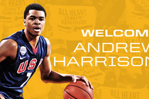 Welcome Andrew Harrison