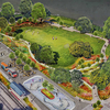 Memphis Grizzlies and Memphis River Parks Partnership team up to program 'RiverPlay' pop-up space at Tom Lee Park