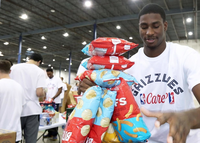 Memphis Grizzlies To Host Food Drive Before Saturday December 8 Game To Benefit Mid