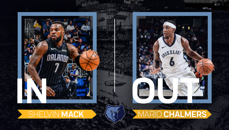 MikeCheck: Mack's winning pedigree fortifies Grizzlies' backup PG spot amid Chalmers' exit, Carter's recovery