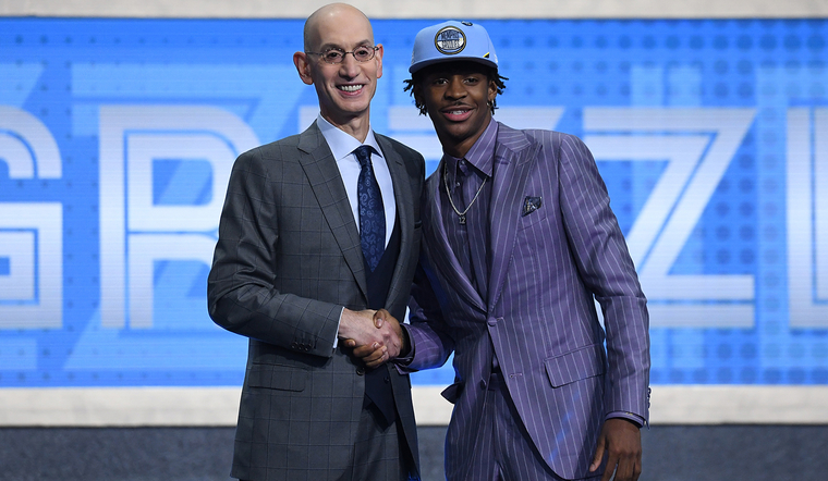 Grizzlies select Ja Morant with second overall pick in 2019 NBA Draft
