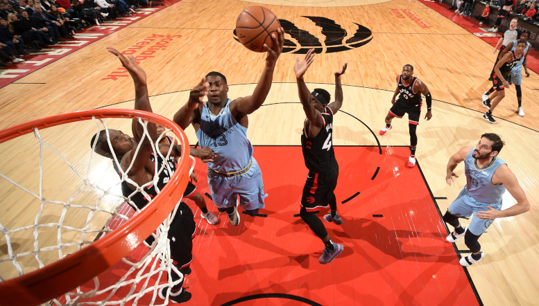 Toronto Terrific in Third Quarter to Top Grizzlies 119-90