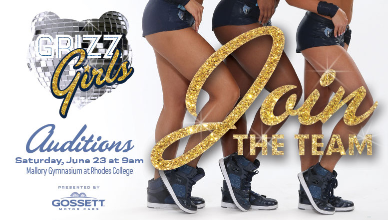 Memphis Grizzlies announce Grizz Girls dance team auditions for 2018-19 season