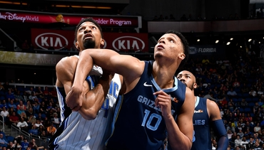 Shorthanded Grizzlies Stumble to Magic in OT, 123-119