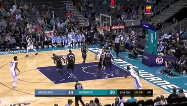 Grizzlies @ Hornets highlights 3.22.18