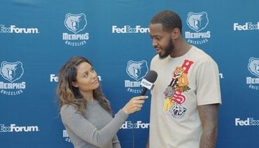 Alexis Morgan goes 1 on 1 with JaMychal Green