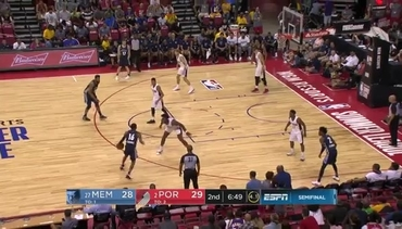Grizzlies vs. Trail Blazers highlights 7.16.18
