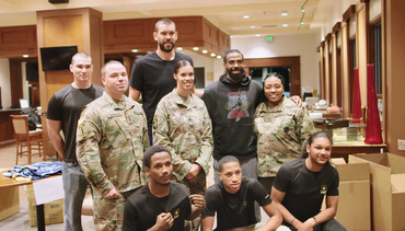 VIDEO: Signing day with the troops