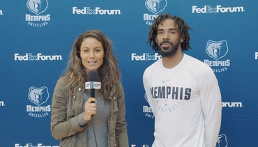 Alexis Morgan goes 1 on 1 with Mike Conley