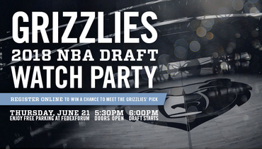 Grizzlies NBA Draft Party Thursday, June 21