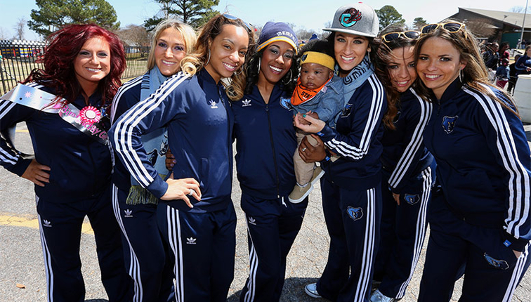 Grizz Girls in the community