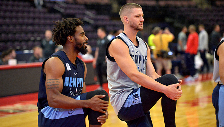 Grizzlies to hold 2018 Training Camp in Memphis from September 25-28