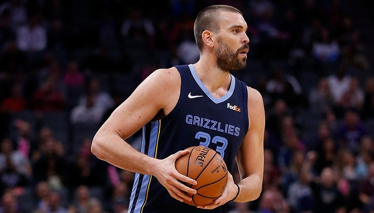 Marc Gasol: MikeCheck: Gasol Back To Work After Scary Fall In