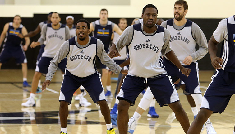 Grizzlies Training Camp