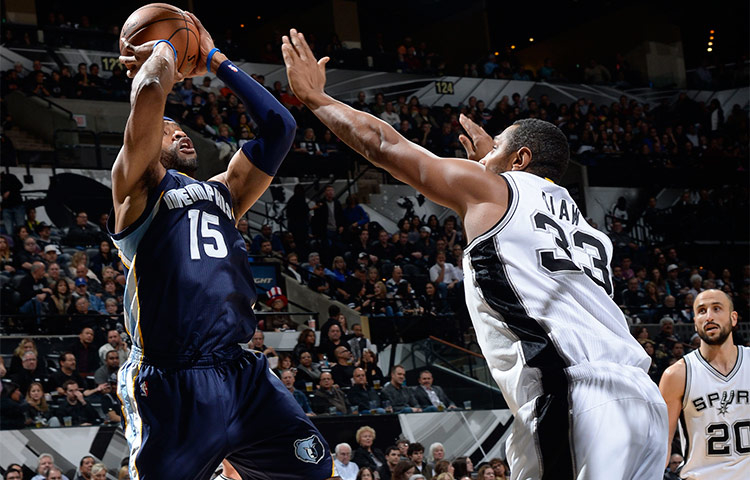 Grizzlies at Spurs