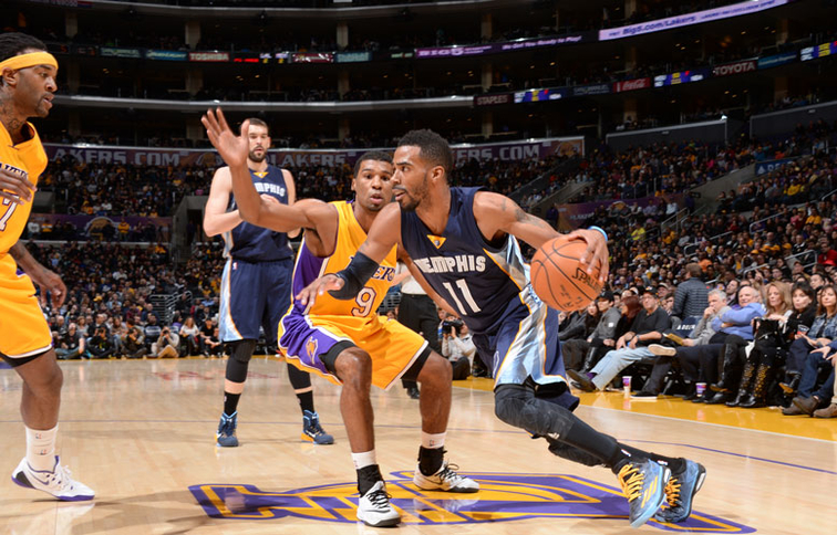 Grizzlies at Lakers