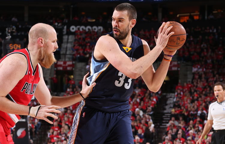 Grizzlies vs. Blazers - 4/25/15