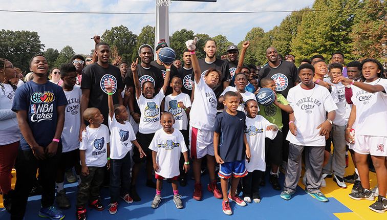 Memphis Grizzlies in the community