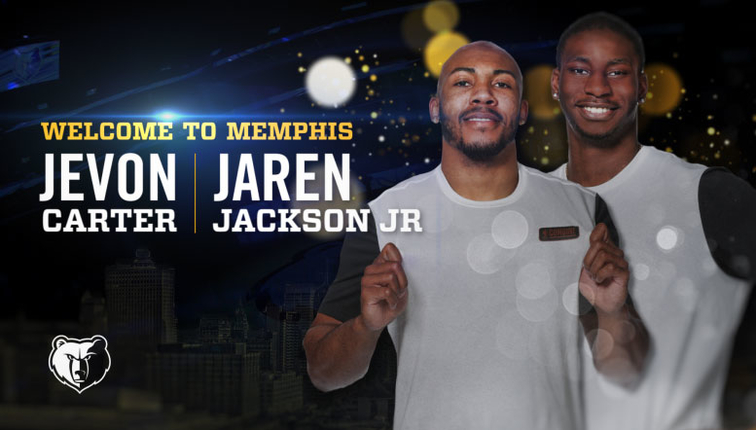 b616a86aa67 Memphis Grizzlies select Jaren Jackson Jr. in the first round and Jevon  Carter in the second round of the 2018 NBA Draft
