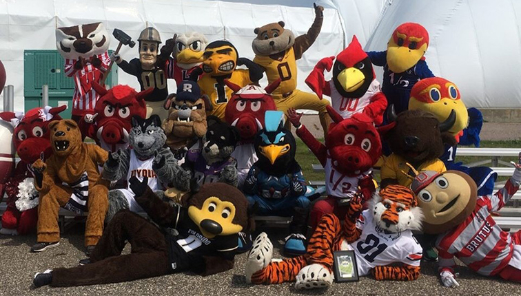 lang s world college football mascots and nicknames provide unique